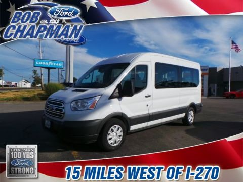 Pre-Owned 2015 Ford Transit-350 XLT RWD 3D Medium Roof Wagon