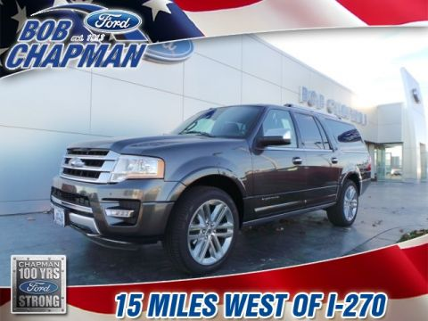 New 2017 Ford Expedition EL Platinum 4WD