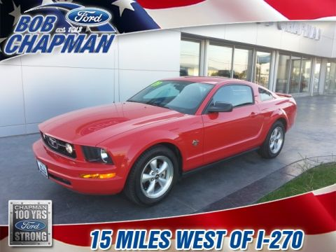 Pre-Owned 2009 Ford Mustang V6 Premium RWD 2D Coupe