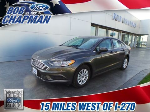 New 2017 Ford Fusion S FWD 4D Sedan