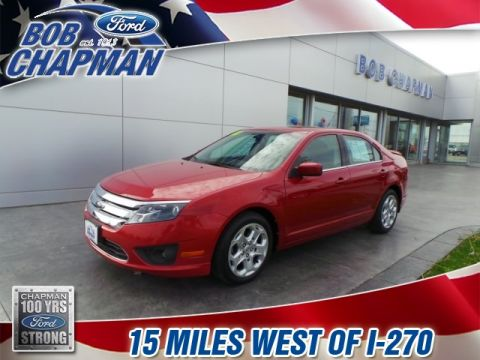 Pre-Owned 2010 Ford Fusion SE FWD 4D Sedan